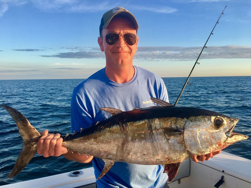 Off shore hustler fishing charters are